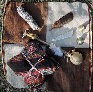 Shamansk healing verktyg