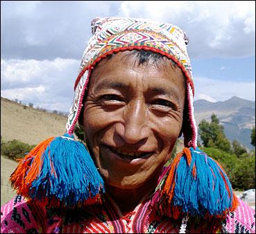 Inka-shaman don Alejandro